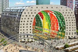 Ongedierte in Markthal Rotterdam