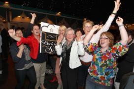 Vreugdetranen winnaars Bakker met Ster