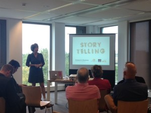 Renee Boogerd vertelt over storytelling