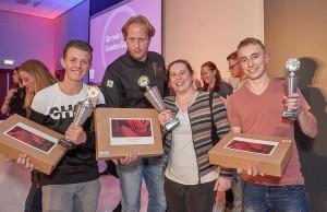 V.l.n.r. Karl Bouman, Sanne Traa en Jeroen Heemskerk. Foto: NBOV