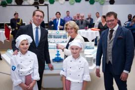 Hubertus & Berkhoff, De Culinaire Vakschool officieel geopend