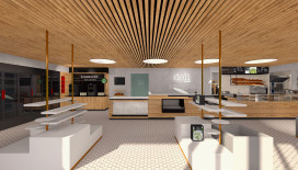 Artist Impression van Deli by Shell