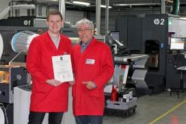 Altrif Label eerste etikettendrukkerij met FSSC 22000 certificaat