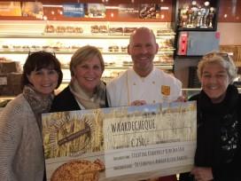 Limburgse Ambachtelijke Bakkers steunen tien goede doelen met elk €250