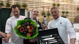 Lyotta Hillen van Pastryclub Eindhoven wint NK Patisserie & Desserts