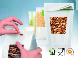 Voedselveilige tapes voor hersluiten foodverpakkingen