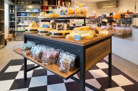Bakkerij integreert kaaswinkel in eigen zaak