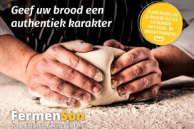 Sonneveld introduceert FermenSon Luxe voor klein- en vruchtenbrood