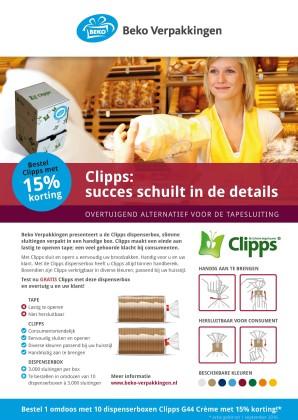Bekoverpakkingen clipps flyer 298x420
