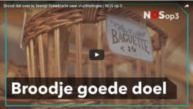 Breadcycle verdeelt retourbrood onder daklozen