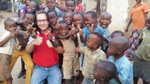 Samen met de straatkinderen