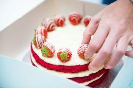 Red Velvet taart winnaar HEMA Taartbakwedstrijd