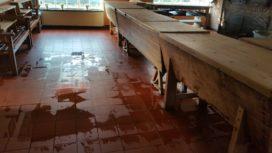 Schade Kempisch Bakkerijmuseum De Grenswachter door noodweer