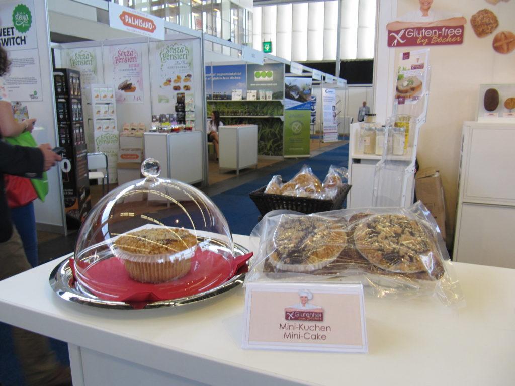 Ernst Böcker GmbH & Co KG lanceerde minicakes zonder gluten en lactose.