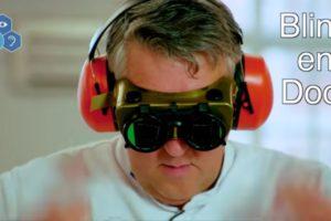 Video: Cupcakes 'doofblinde' Robèrt van Beckhoven mislukt
