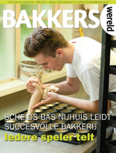 Bakkerswereld 8 met Tobias op de cover.