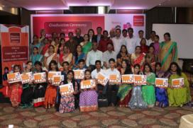 Puratos trots op eerste lichting afgestudeerden in India