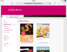 Nieuwe tool voor promotiemateriaal van Smilde Bakery