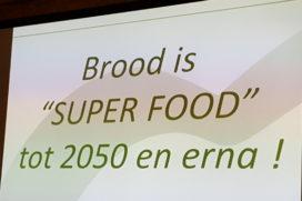 'Brood is superfood, tot 2050 en erna'