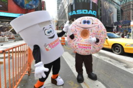 Dunkin' Donuts opent eerste vestiging in Nederland in 2017