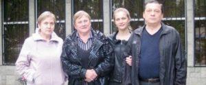 De bakkersfamilie Polukhin.