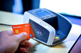 Aantal contactloze betalingen vervijfvoudigd