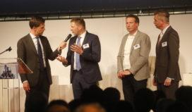 Royal Steensma in gesprek met premier Mark Rutte