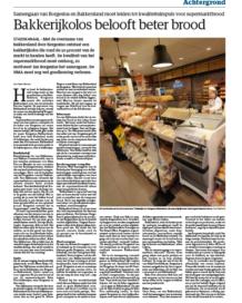 Analisten zien supermarkten terrein winnen, bakkers moeten voor zichzelf markt creëren