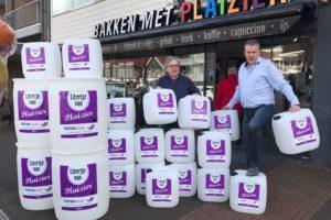 Bakker Floor Plaizier voert actie met diesel en benzine