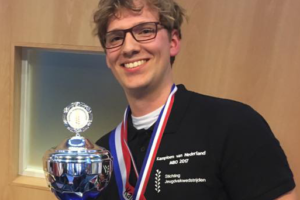 Sander Scholtens wint goud op NK Jeugdvakwedstrijden