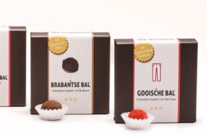 Ondernemer maakt bonbons gebaseerd op verschillende streken