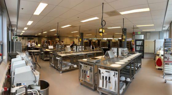 De nieuwe ruimte is ook is geschikt gemaakt om examens in af te nemen.  Foto's: Horizon College (HC)