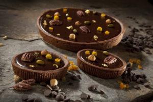 Chocolade ganache taart