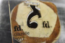 Bakery Institute wint FD Gazelle Award 2017