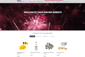 Vipam lanceert nieuwe website en webshop