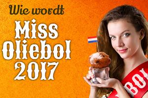 Wie wordt Miss Oliebol 2017?