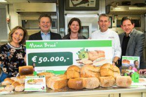 Mama Brood levert 50.000 euro op voor Cordaid Memisa
