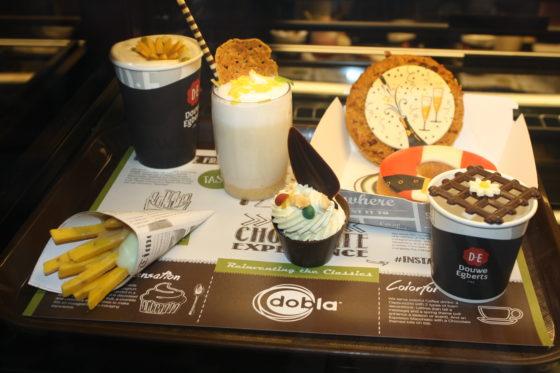Dobla biedt 'fastfood-chocolade': een speelse manier om meer te doen met chocolade.