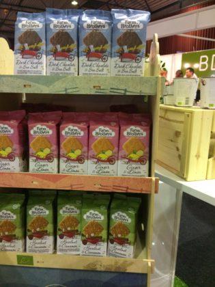 De Farm Brothers Cookies komen naast de bulkverpakkingen voor de horeca en de groothandel ook in een consumentenverpakking voor €2,99.