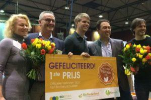 Bananenbrood van Udea is Favoriete Bioproduct van 2018