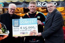 't Stoepje haalt 15.000 euro op voor War Child