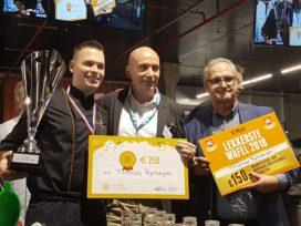 Horecava – Thomas Rijsbergen wint wedstrijd Lekkerste Wafel