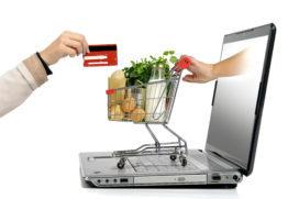 Online bestedingen aan food schieten omhoog