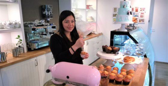 'De markt heeft veel behoefte aan bewuste voeding en zeker in de taartenbusiness', zegt eigenaresse Monique. (foto: Ma Bella Cakery)