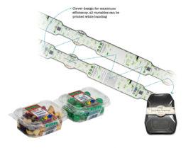 Efficiënt verpakken en labelen met één banderol