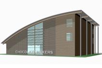 Chocolatemakers bouwt duurzaam zicht-atelier