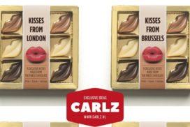 Kusjes van Carlz gaat Europa in