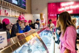 IJswinkel Baskin-Robbins Utrecht feestelijk geopend