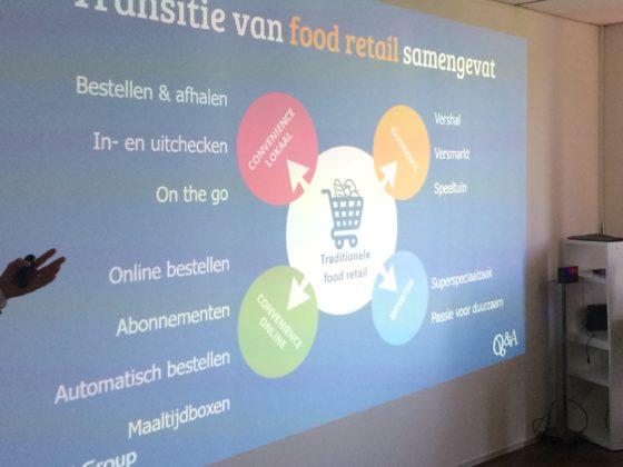 De matrix binnen de omlijning van Expericence en  Expertise laat zien welke shop en gemaksmogelijkheden de consument verlangt van de aanbieders op de markt.