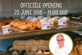 Van Veen geeft opening Proof Bakery bijzonder tintje